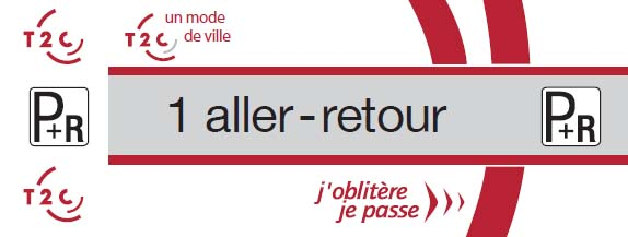Ticket P + R - Билеты на транспорт по Clermont-Ferrand